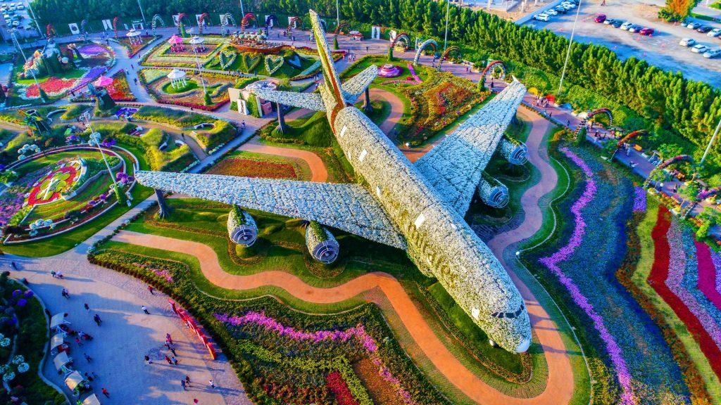 Miracle Flower Garden in Dubai, UAE
